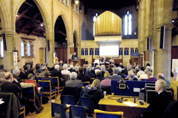 Synod in Christ Church Leicester