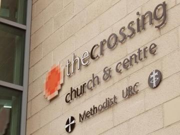 The Crossing church and centre (sign)