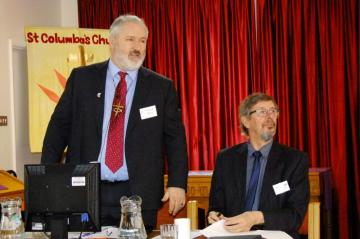Revd Peter Meek, and Mr Duncan Smith