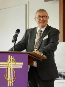 Revd Kevin Watson, Moderator of General Assembly 2016 - 18