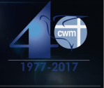 CWM at 40 logo